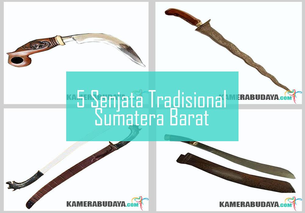 Inilah 5 Senjata Tradisional Dari Sumatera Barat