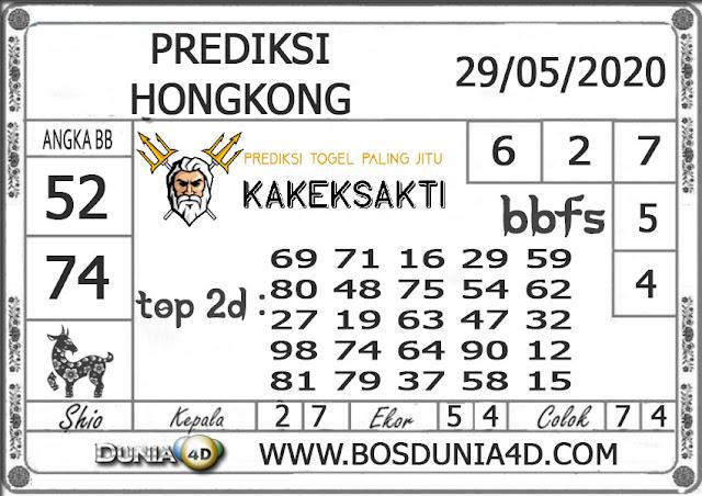 Prediksi Togel HONGKONG DUNIA4D 29 MEI 2020