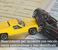incidente con auto senza assicurazione