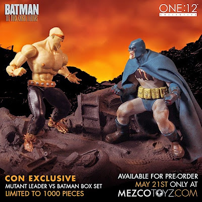 "SDCC 15 Exclusive ""Batman vs. Mutant Leader"" The Dark Knight Returns One:12 Collective Deluxe Boxed Set by Mezco Toyz"