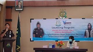 Kejari Bersama Forum TBM Sinjai Me-Launching Program Literasi Bersahaja