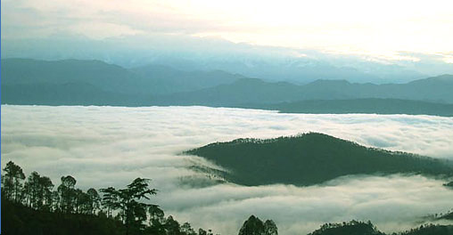 Kausani Attraction : Pinnath Kausani
