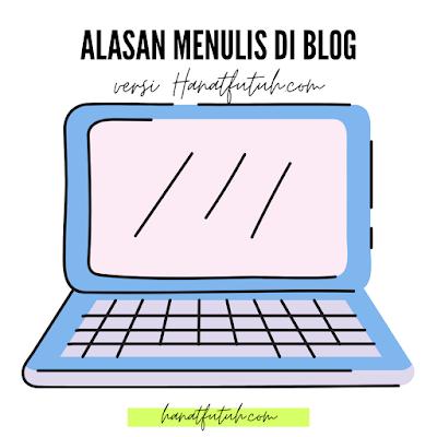 Alasan menulis hanatfutuh.com