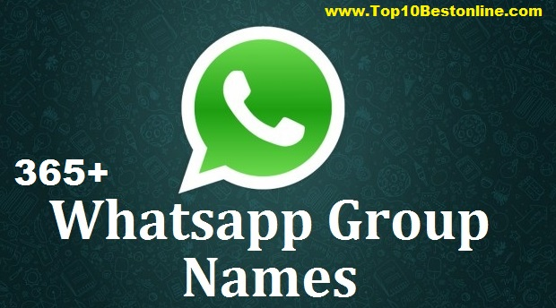 what some cool whats group names