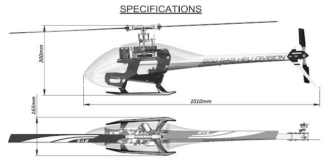 Test di Volo del Goblin 500 Sport