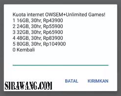 Paket Internet Axis Murah 2020