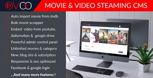 Codecanyon - Ovoo Movies & Video Streaming CMS - ECDLTheme - Free ...
