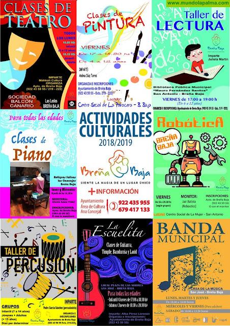 BREÑA BAJA: Actividades de Promoción Cultural