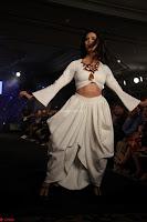 Meenakshi Dixit Walks the Ramp At Designer Nidhi Munim Summer Collection Fashion Week (3).JPG