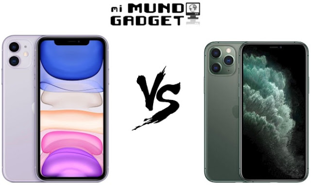 Comparativa: iPhone 11 vs iPhone 11 Pro