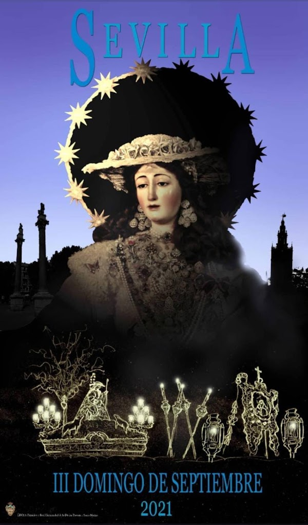 Cartel del III Domingo de Septiembre de la Divina Pastora de Santa Marina