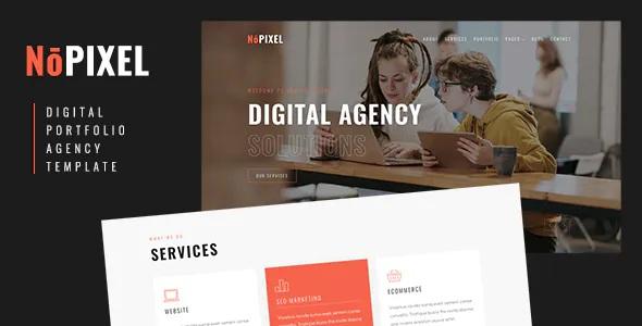 Best Digital Portfolio and Agency Template