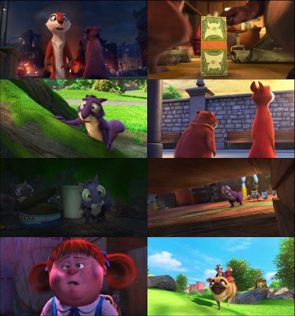 The Nut Job 2 Nutty by Nature 2017 Dual Audio 720p BluRay