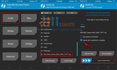 install mod kamera xiaomi redmi 3s series