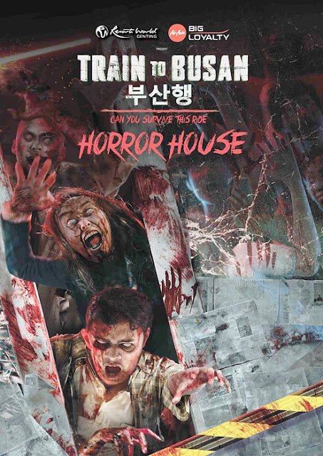 Train to Busan Horror House Experience, Resorts World Genting, Vividthree, South Korea's Content Panda, AirAsia Big, Genting Highlands, Resorts World, The Streets of Seoul, Horror House, Malaysia Horror House, Genting Horror House, Horror House Experience, Lifestyle, Travel