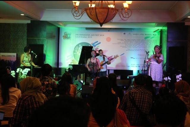 Hari Pertama Digelar, TP Jazz Fest 2019 Berhasil Pikat Penonton
