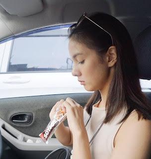 Nasya Marcella Makan Soyjoy