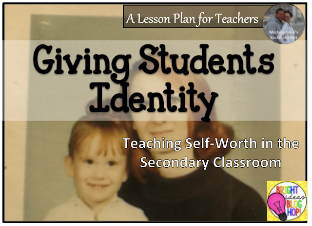 Giving students identity and helping them find self-worth in the secondary classroom.