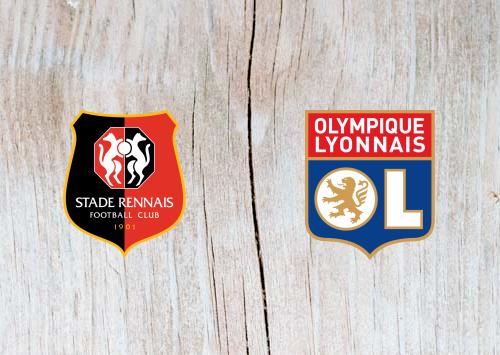 Rennes vs Lyon - Highlights 29 March 2019