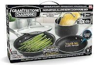 Granite Stone Diamond Ultimate Nonstick 5 Piece Kitchen Cookware Set