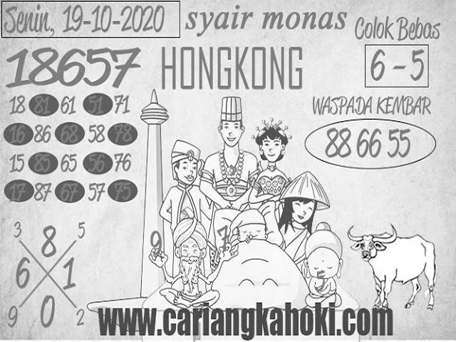 Kode syair Hongkong senin 19 oktober 2020 236