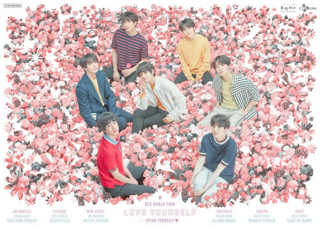 "BTS Akan Gelar Tur Konser Lanjutan, ""Love Yourself: Speak Yourself"""