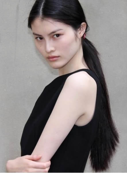 Sui He Sui He is a Chinese fashion model notable for being the first Asian face of Shiseido, first Asian model to open a Ralph Lauren runway show and the second model of Chinese descent to walk in the Victoria's Secret Fashion Show.