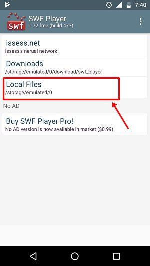 How To Play SWF Files On Android - Pcnexus