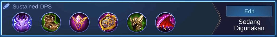 build item tigreal mobile legends (ML)
