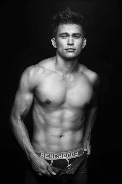 tom rodriguez shirtless for bench the naked truth