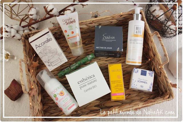 Produits cosmétique bio Cosmebio