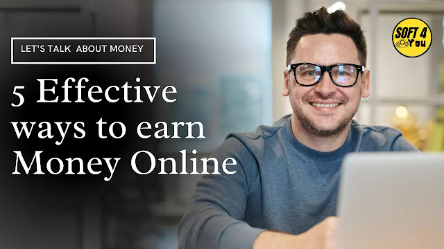 Top 5 ways to earn money online without investment in 2021