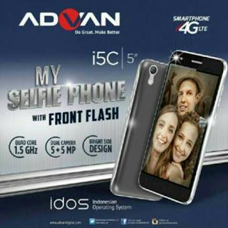 Spesifikasi Advan i5C