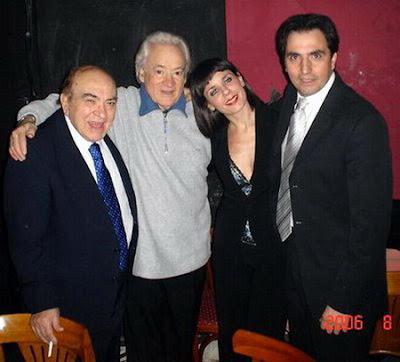 Alberto Podesta y Roberto Mancini