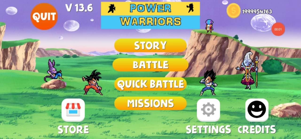 Power Warriors 13.6 Mod Apk download