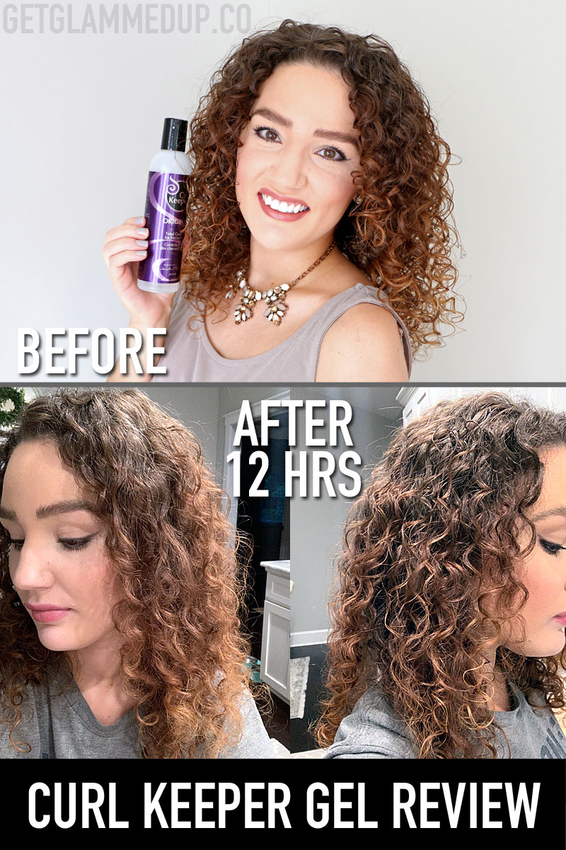 Curl Keeper Gel Review & Wear Test in Humidity