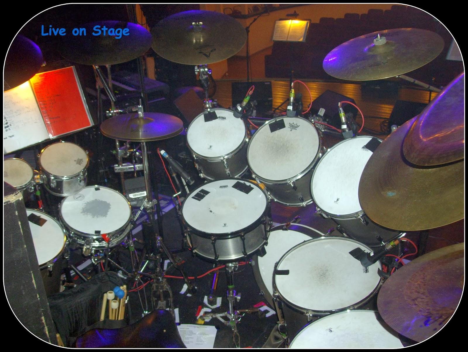 Franz Di Cioccio Drum 2011
