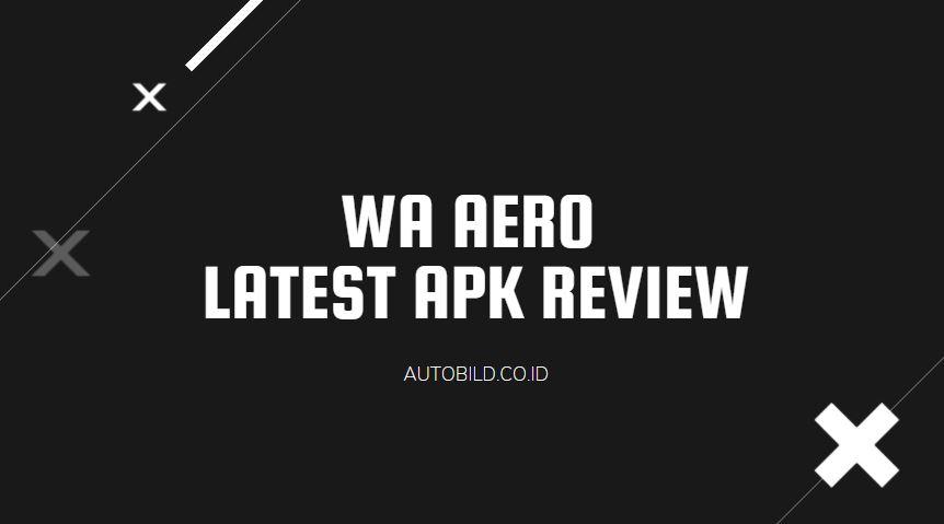 download WA AERO APK terbaru