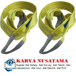 Jual Webbing Lifting Sling Strops 3 Tonne Lengths From 1m di Makasar
