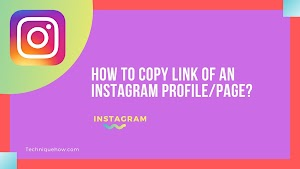How to Copy Link of an Instagram Profile or Page?