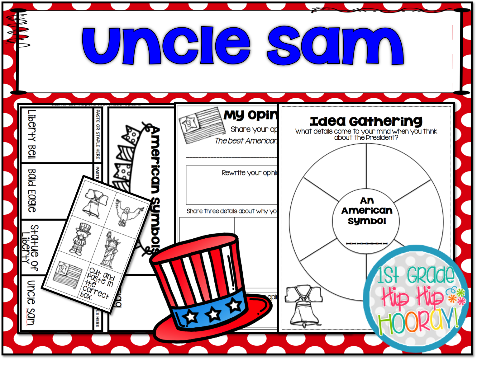 Worksheets American Symbols 1st Grade   Printable Worksheets and Activities  for Teachers [ 1218 x 1531 Pixel ]