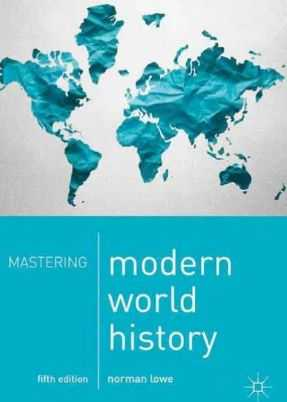 Norman Lowe World History pdf For Upsc 5th Edition Book
