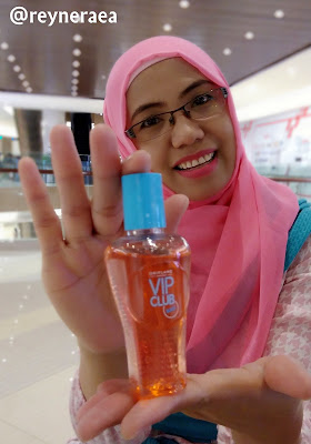 parfum oriflame VIP Club Bali Body Mist