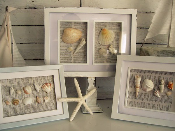 Eye for design great ways to display your seashell collection try some do it yourself projects solutioingenieria Images