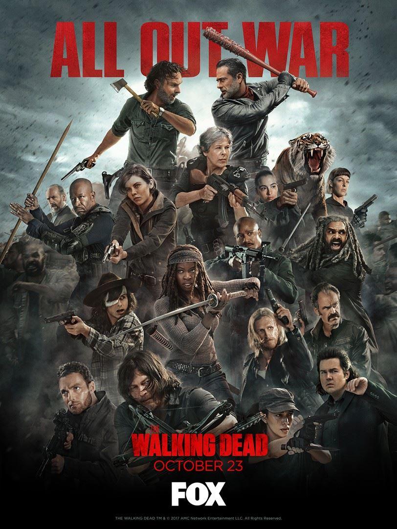 The Walking Dead Saison 8 Nouveau Trailer Extrait Du