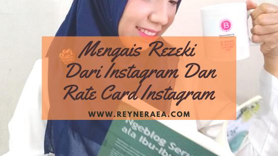 Rate card instagram adalah