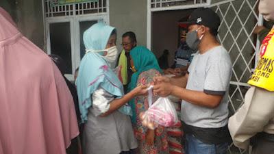 Hari ini Warga Cengklong Terima Bantuan Pangan Non Tunai