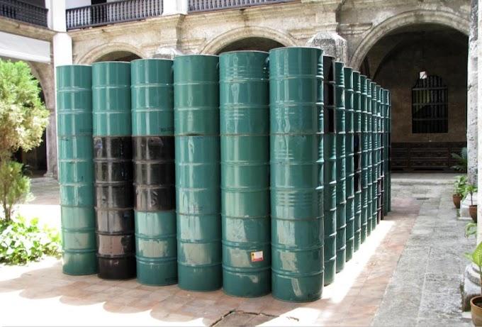 Régimen venderá tanques de 55 galones para que sean usados como alcancías