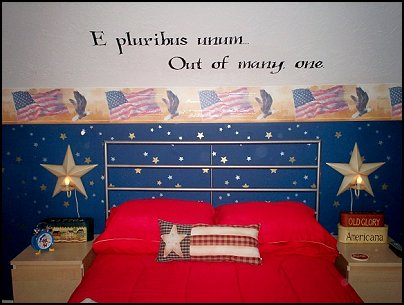 Decorating Theme Bedrooms Maries Manor Patriotic Stars