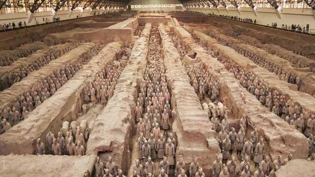 Pembangunan Monumen Tentara Terakota yang Luar Biasa
